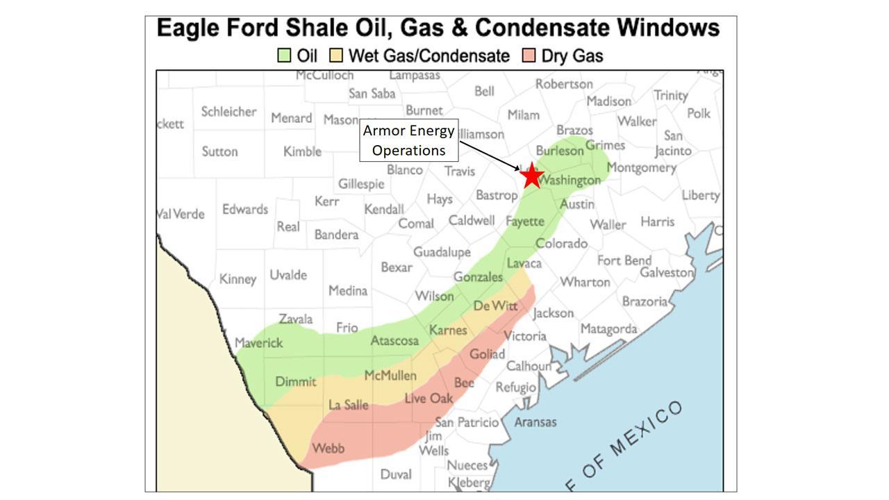 Eagle Ford Shale Oil, Gas & Condensate Windows
